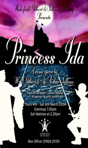 2004 - Princess Ida, programme cover