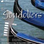 2010 Gondoliers poster