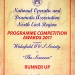 Award for our programme