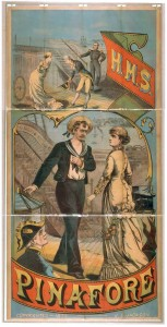 American production poster of HMS Pinafore from Wikimedia Commons